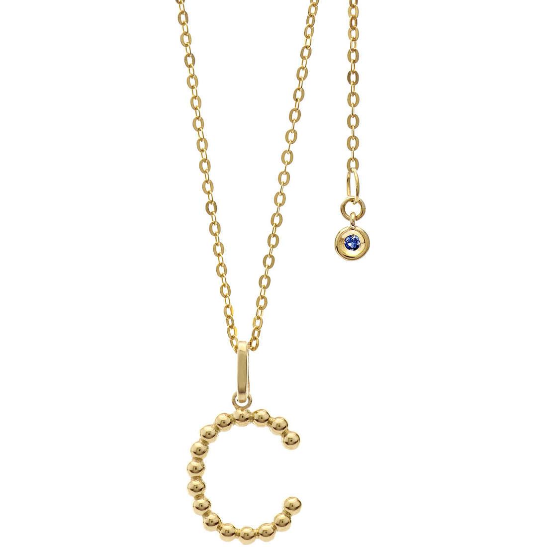 necklace woman jewellery Comete Letterine GLB 1052
