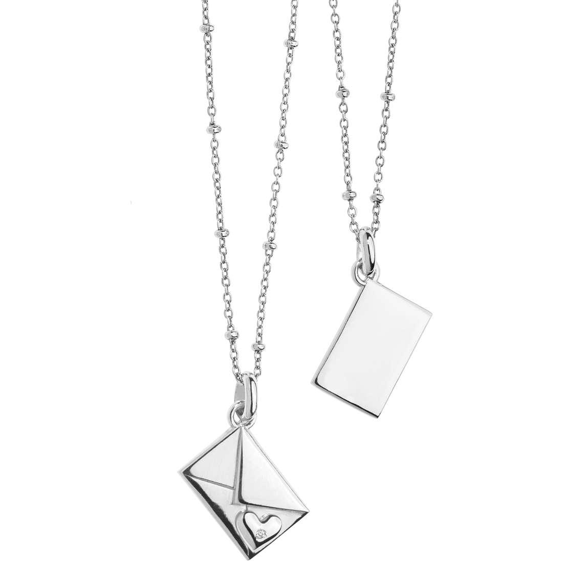 necklace woman jewellery Comete Pensieri Preziosi GLA 134