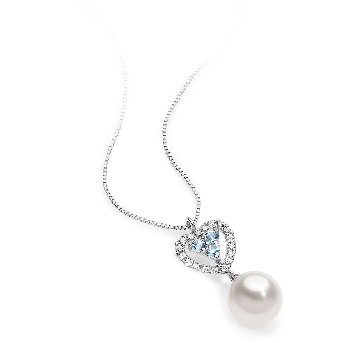 necklace woman jewellery Comete Perla AGP 040