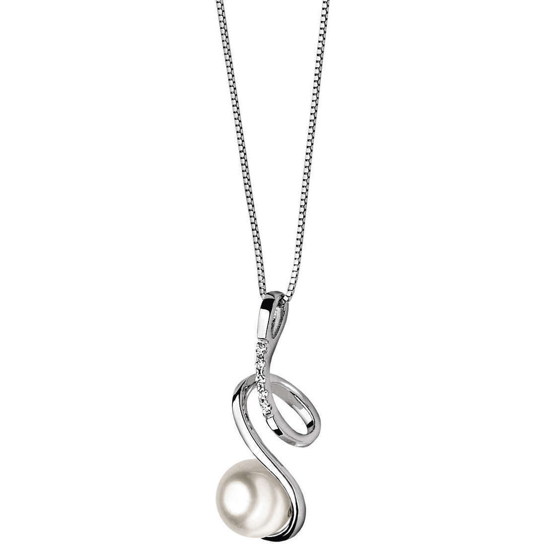 necklace woman jewellery Comete Perla GLP 271