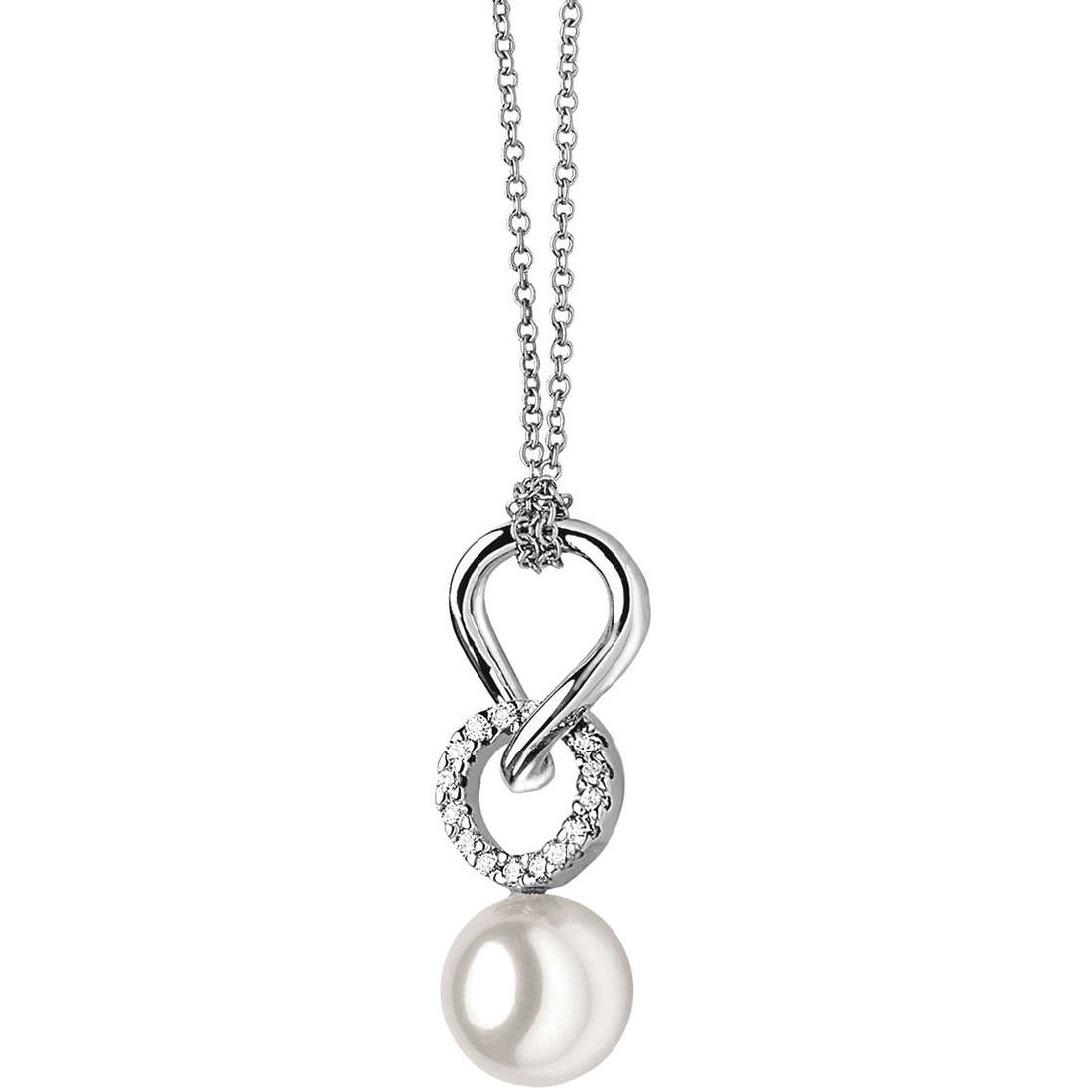 necklace woman jewellery Comete Perla GLP 320