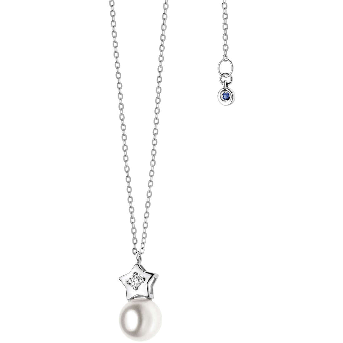 necklace woman jewellery Comete Perla GLP 425