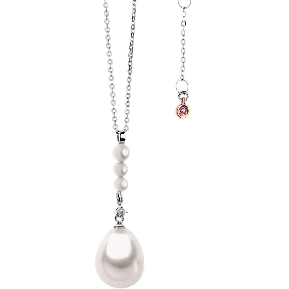 necklace woman jewellery Comete Perla GLP 435