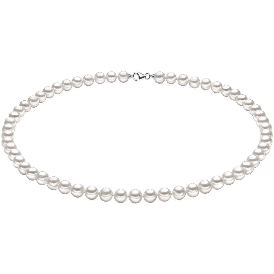 necklace woman jewellery Comete Perle Argento FWQ 101 S45