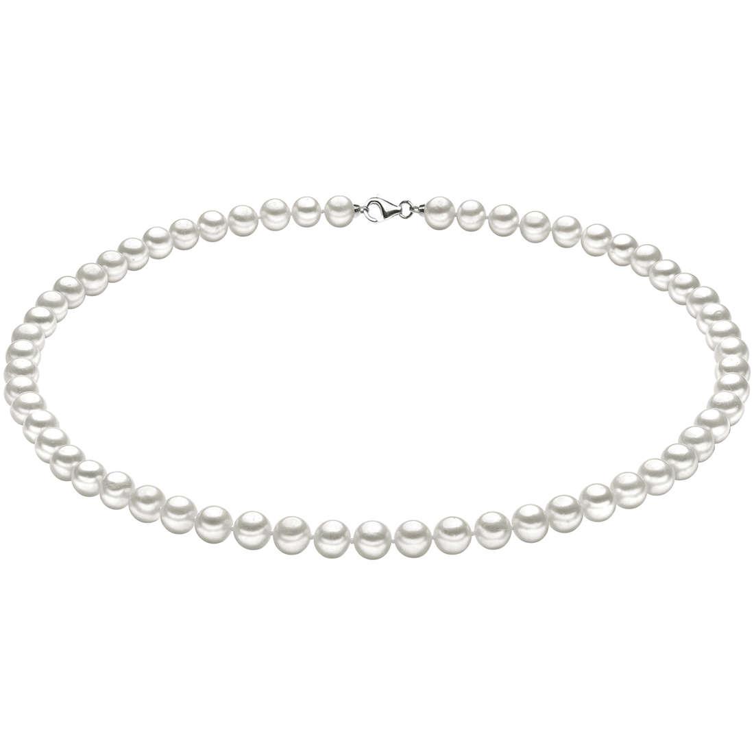 necklace woman jewellery Comete Perle Argento FWQ 101 S