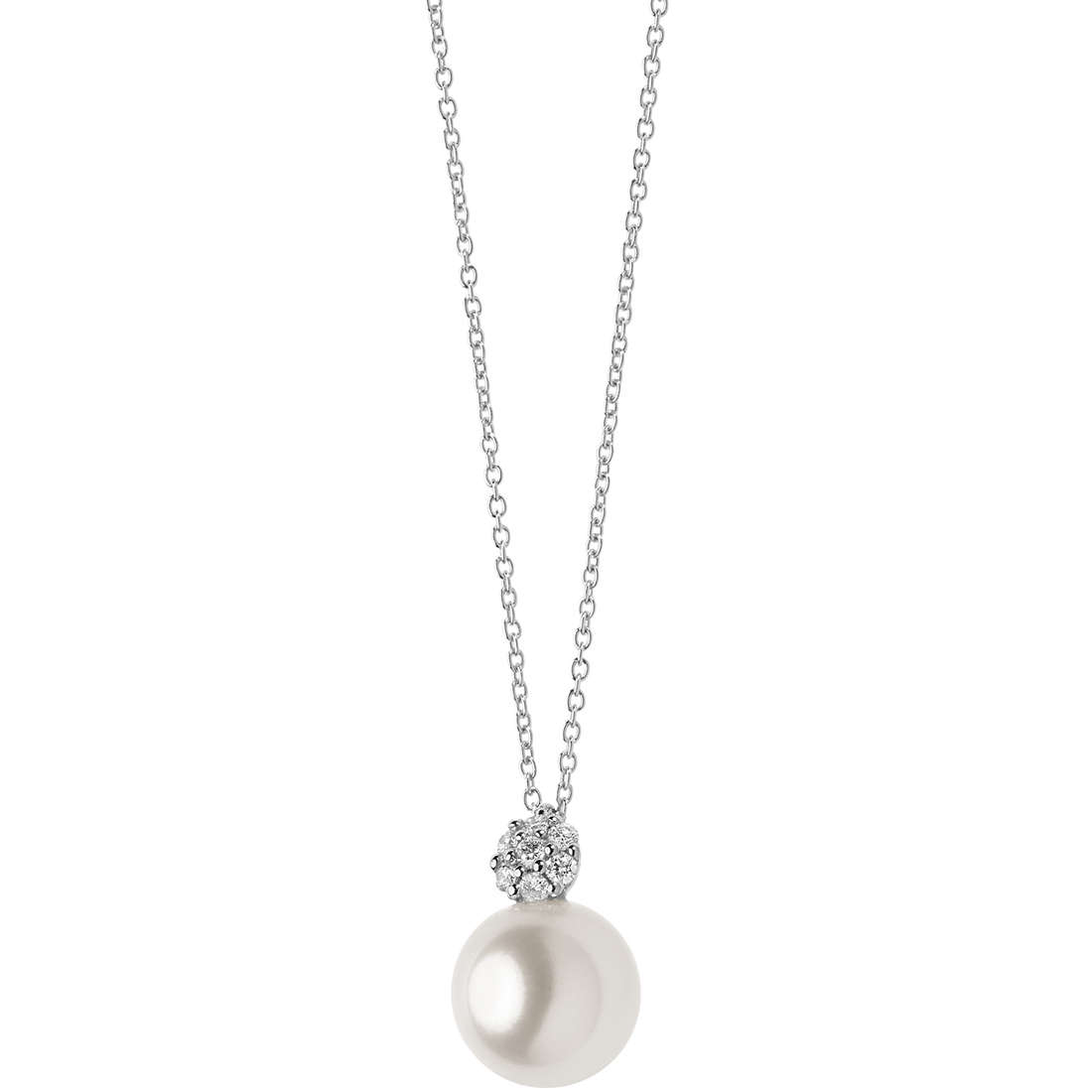 necklace woman jewellery Comete Perle GLP 481