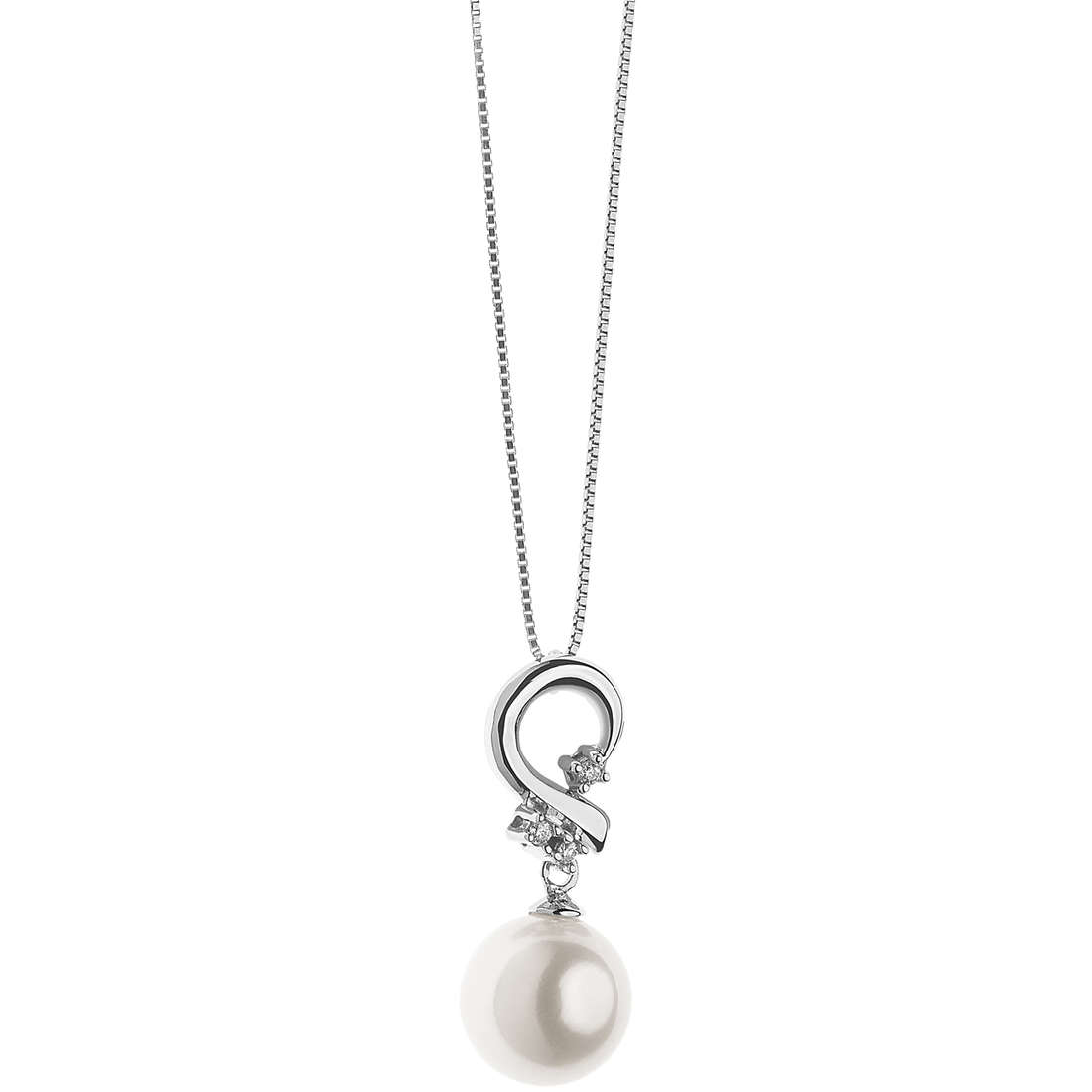 necklace woman jewellery Comete Perle GLP 486