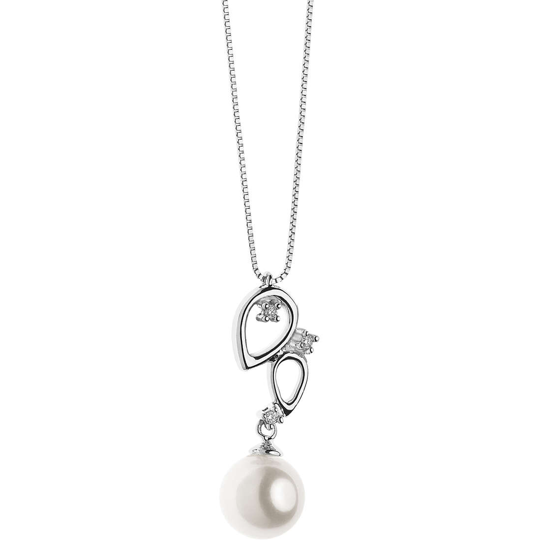 necklace woman jewellery Comete Perle GLP 487