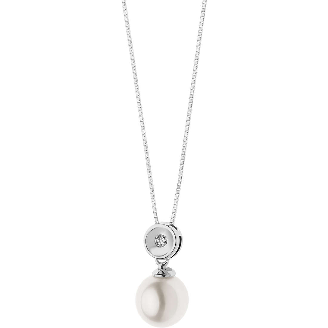 necklace woman jewellery Comete Perle GLP 490