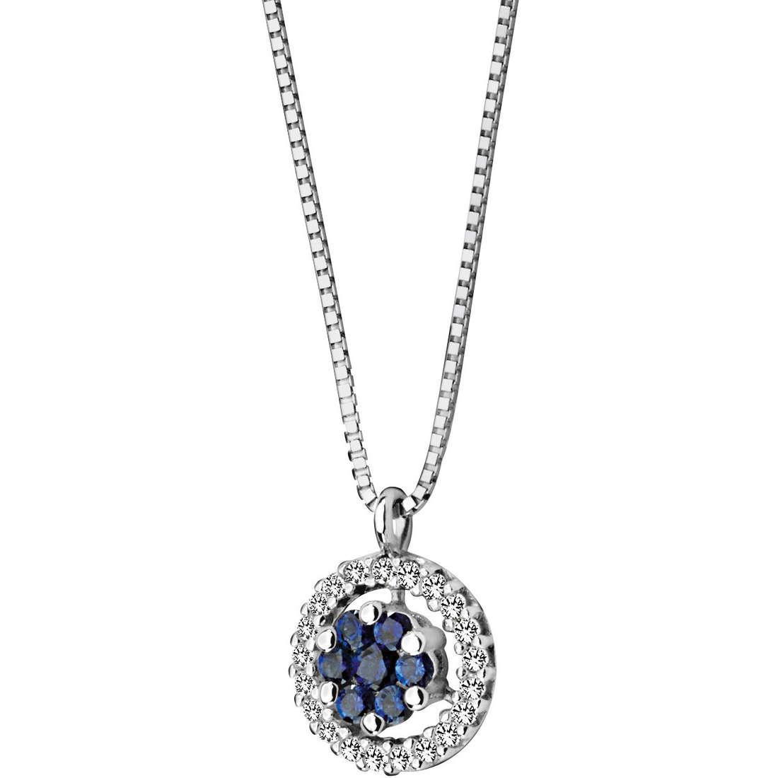 necklace woman jewellery Comete Pietre preziose colorate GLB 624