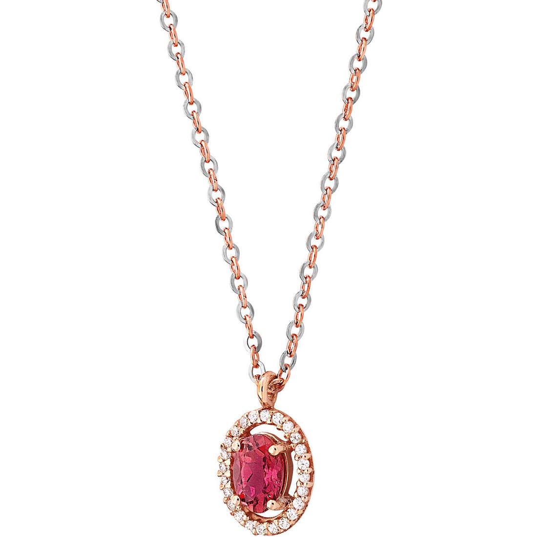 necklace woman jewellery Comete Pietre preziose colorate GLB 737
