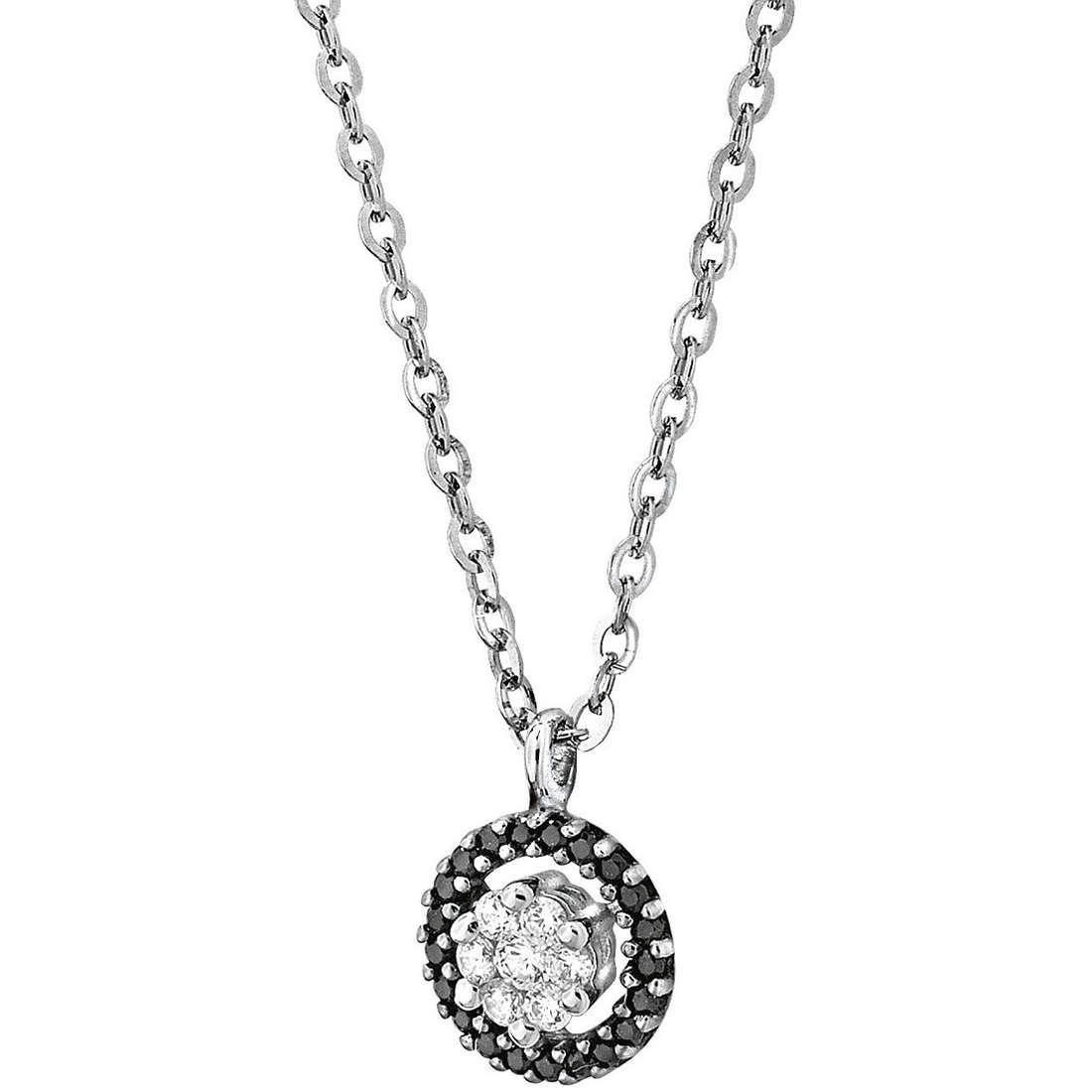 necklace woman jewellery Comete Pietre preziose colorate GLB 738