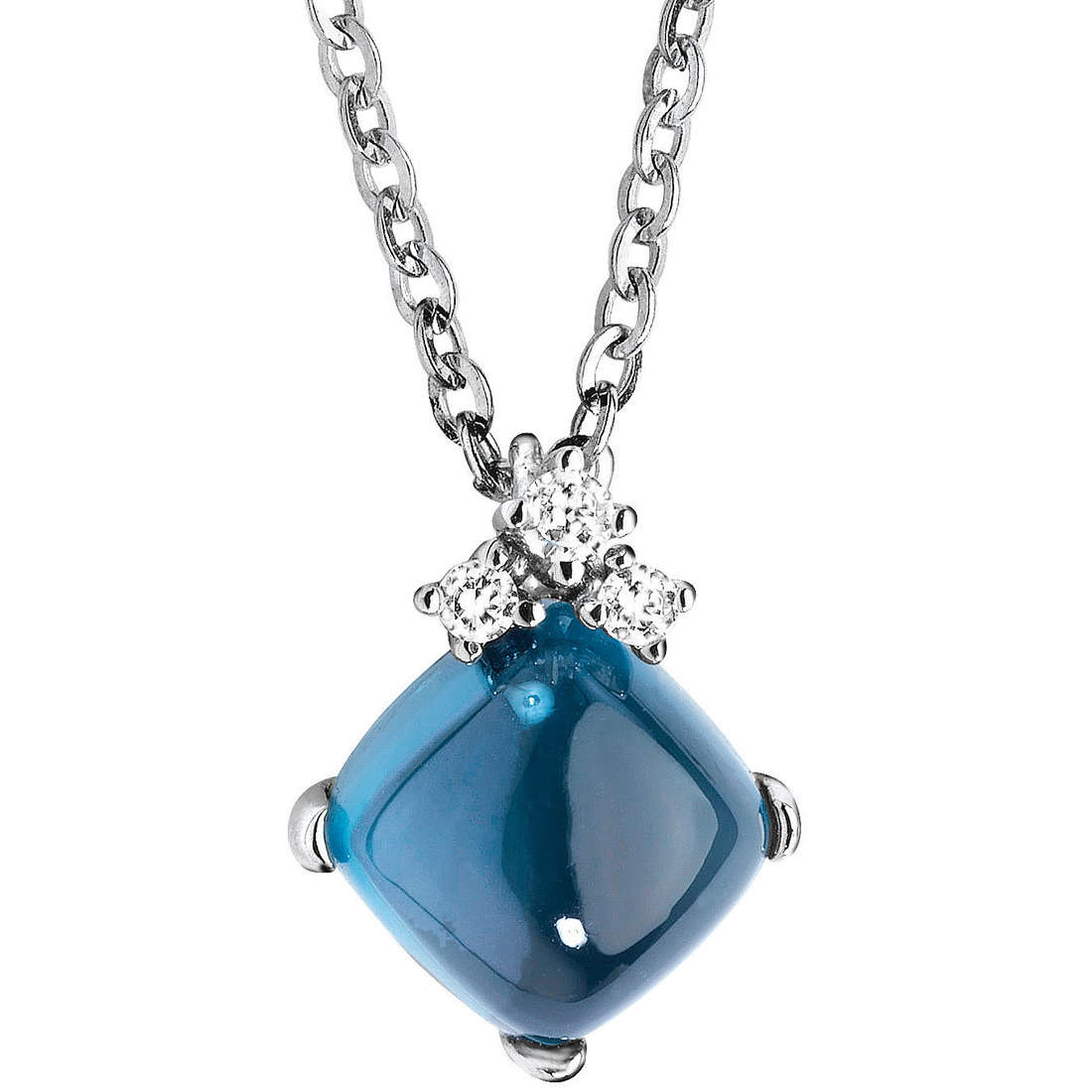necklace woman jewellery Comete Pietre preziose colorate GLB 754