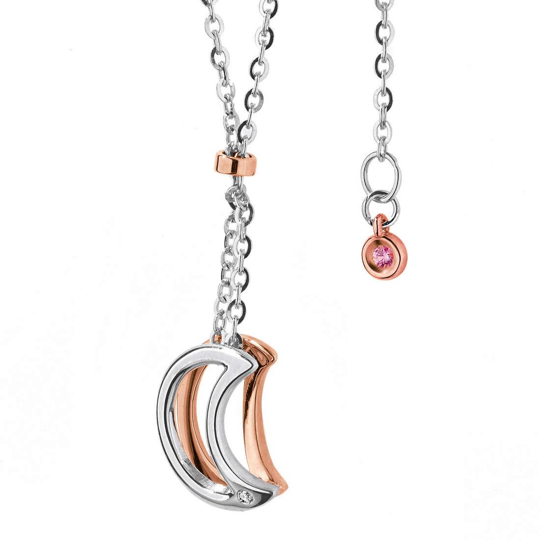 necklace woman jewellery Comete Pietre preziose colorate GLB 763