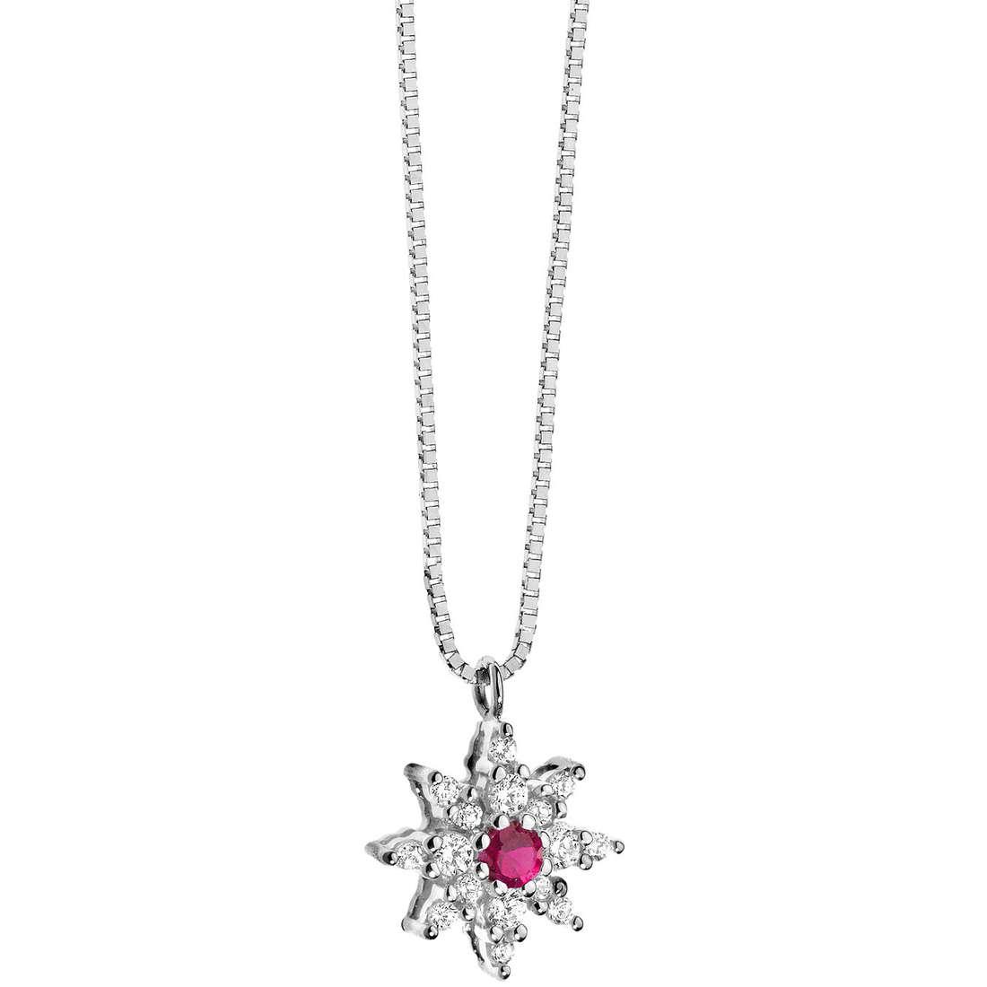 necklace woman jewellery Comete Pietre preziose colorate GLB 781