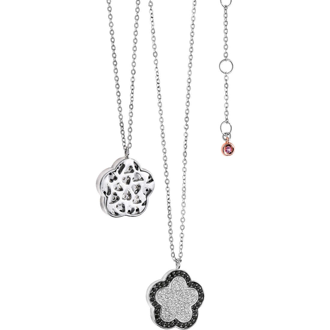 necklace woman jewellery Comete Pietre preziose colorate GLB 803
