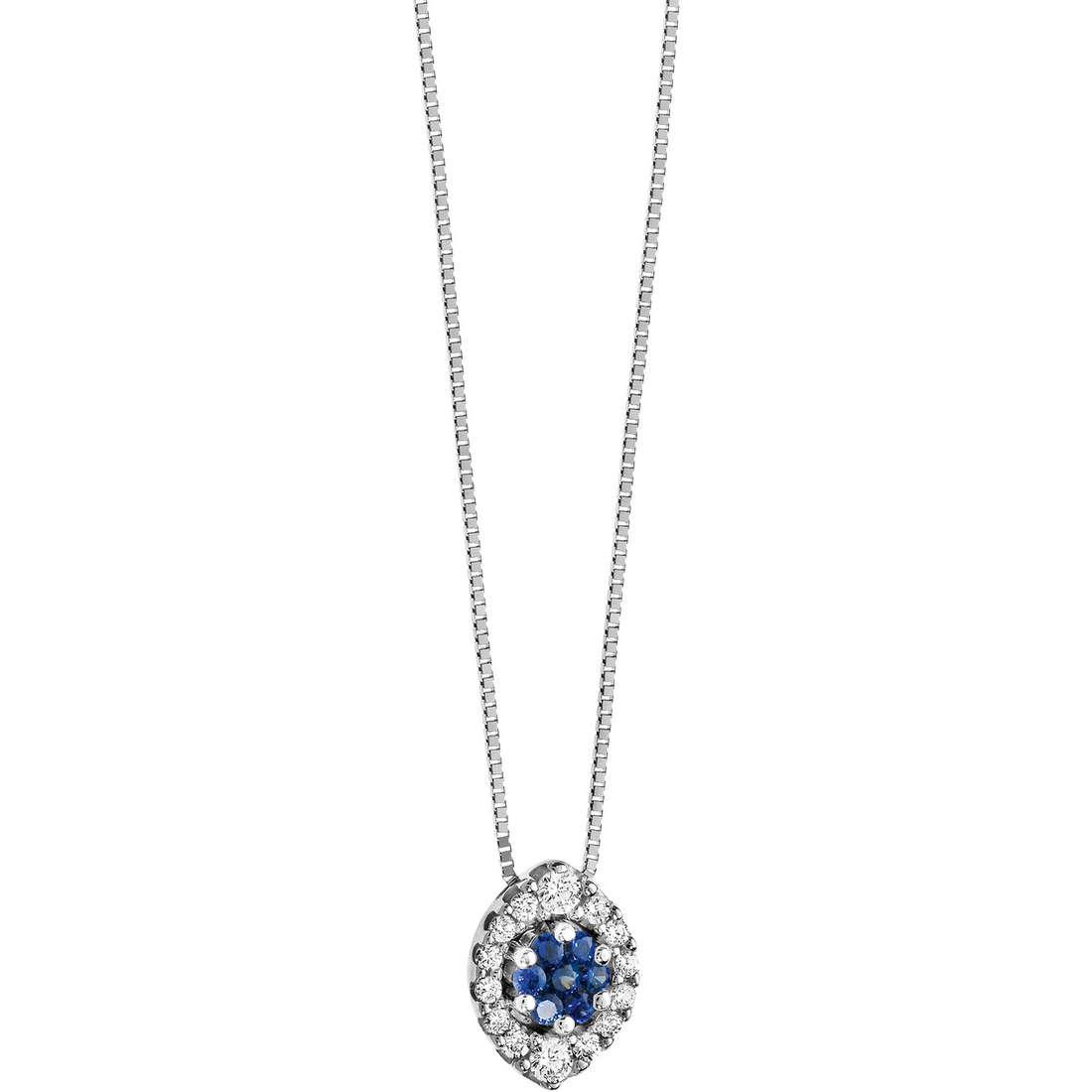 necklace woman jewellery Comete Pietre preziose colorate GLB 807