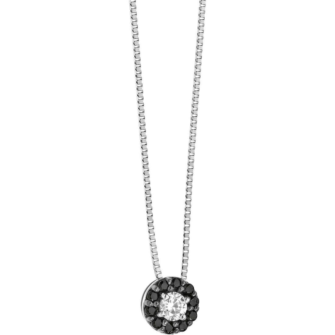 necklace woman jewellery Comete Pietre preziose colorate GLB 811