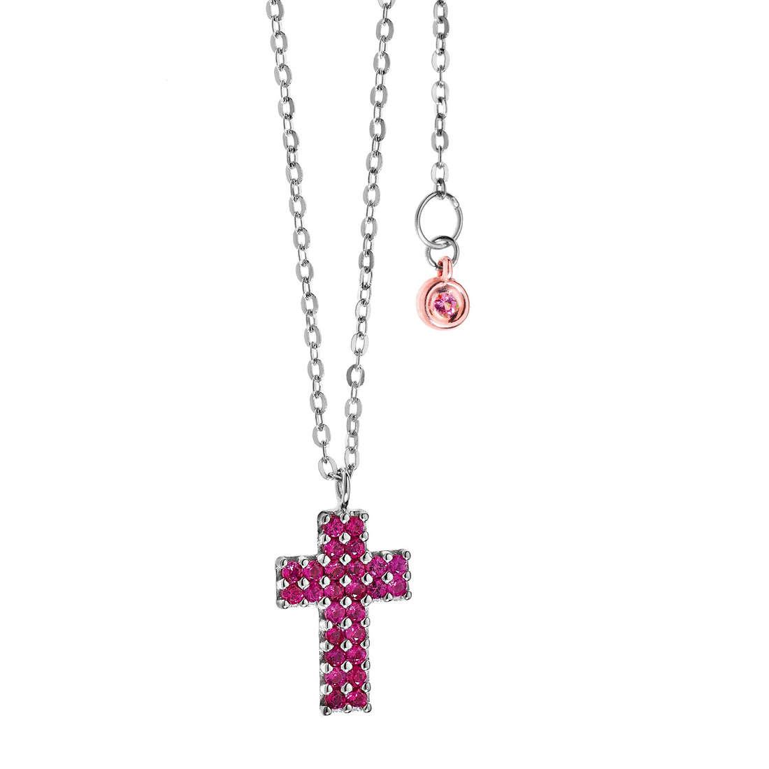 necklace woman jewellery Comete Pietre preziose colorate GLB 819