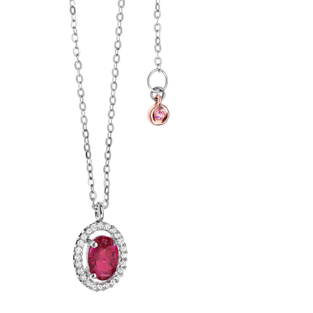 necklace woman jewellery Comete Pietre preziose colorate GLB 825
