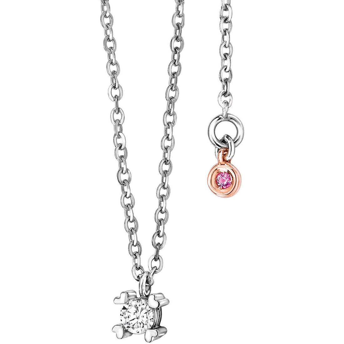 necklace woman jewellery Comete Pietre preziose colorate GLB 848