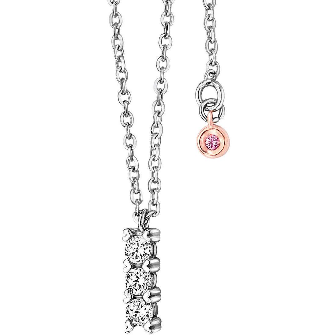 necklace woman jewellery Comete Pietre preziose colorate GLB 863