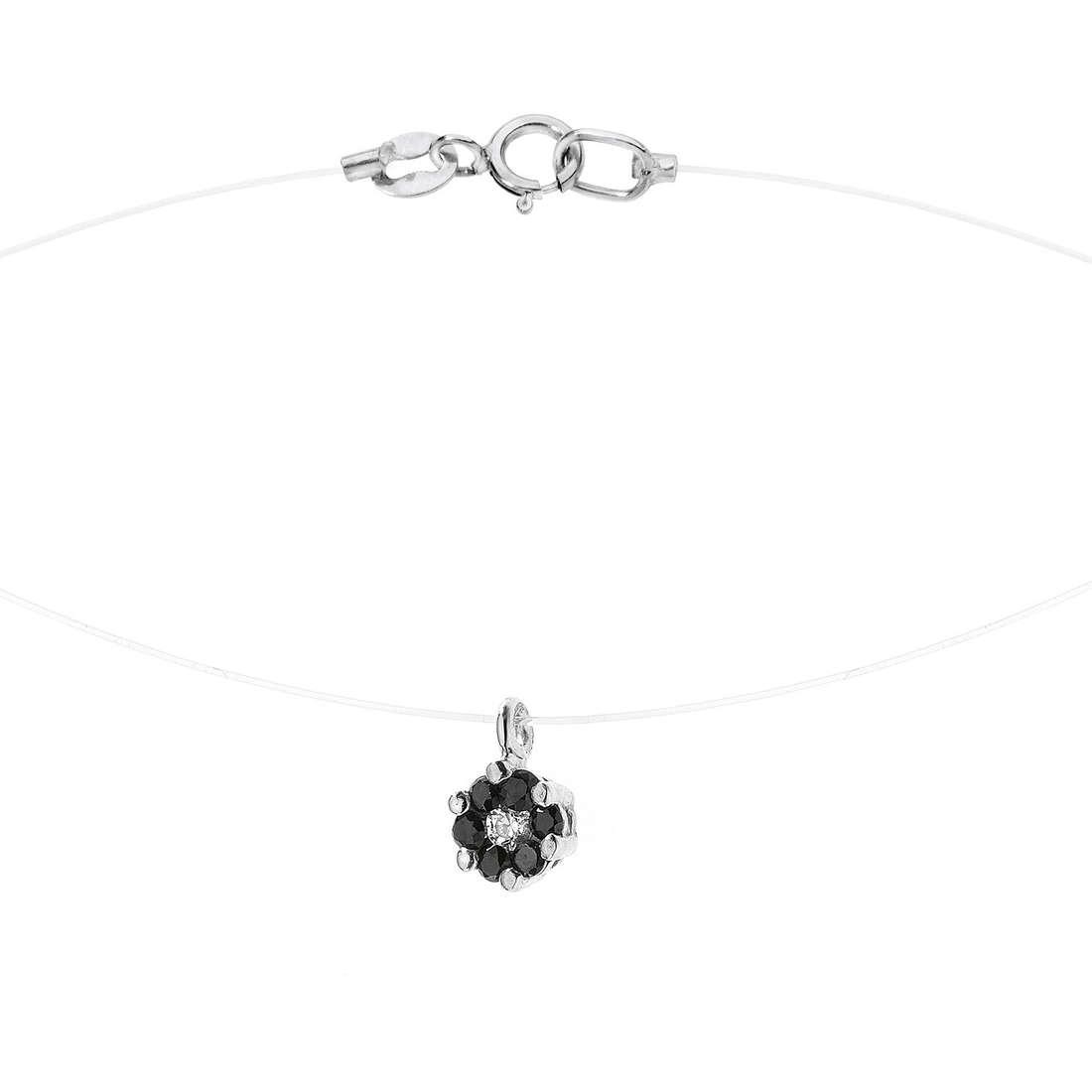 necklace woman jewellery Comete Pietre preziose colorate GLB 876