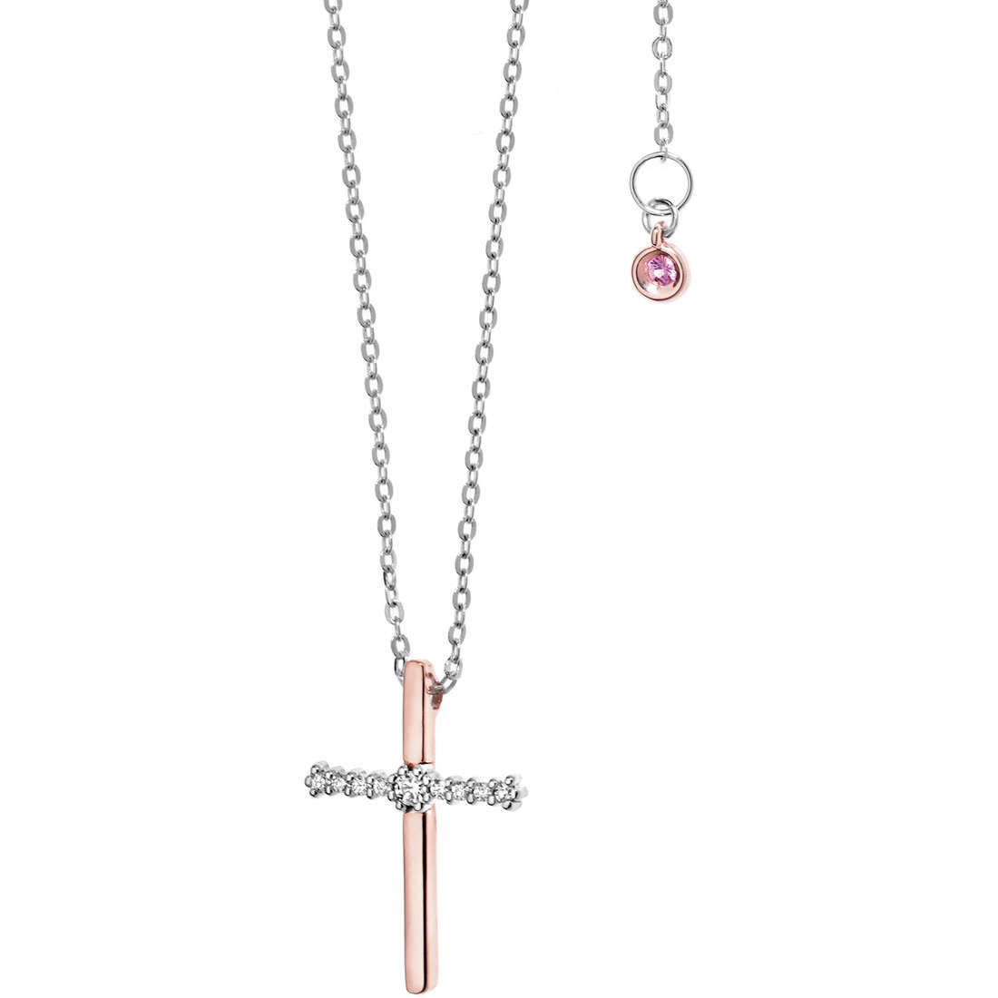 necklace woman jewellery Comete Pietre preziose colorate GLB 879
