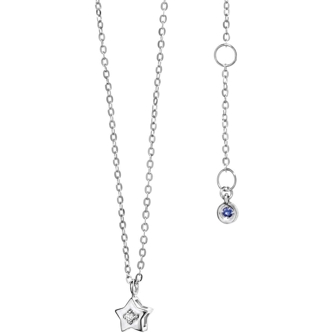 necklace woman jewellery Comete Pietre preziose colorate GLB 886