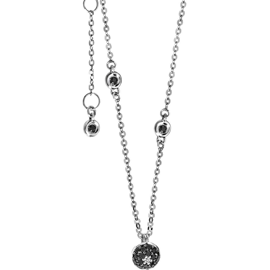 necklace woman jewellery Comete Pietre preziose colorate GLB 894