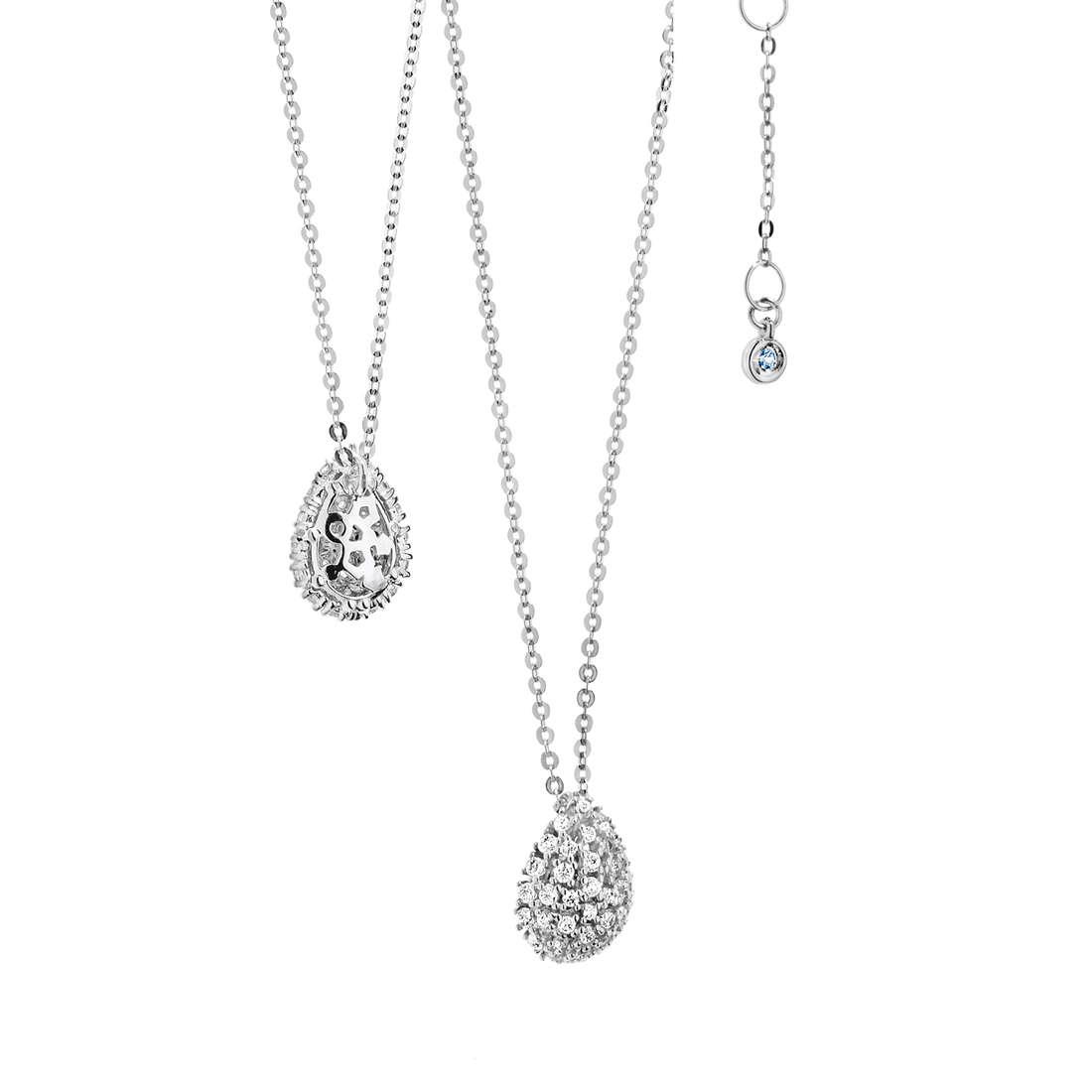necklace woman jewellery Comete Pietre preziose colorate GLB 911