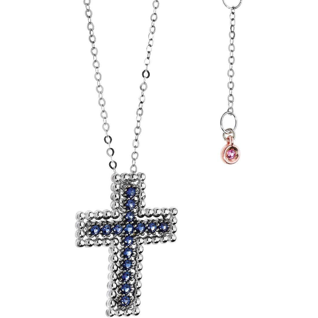 necklace woman jewellery Comete Pietre preziose colorate GLB 944