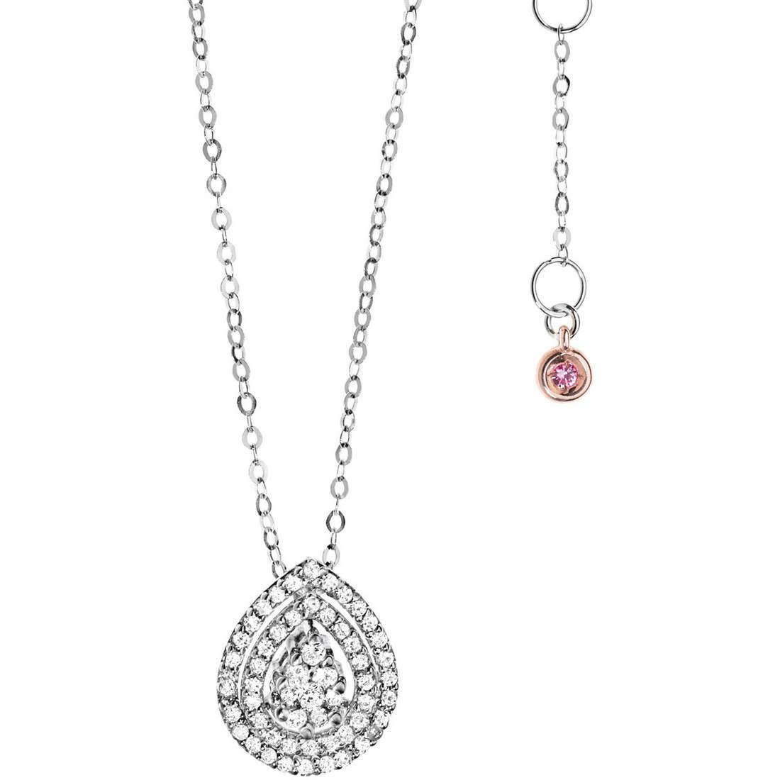 necklace woman jewellery Comete Pietre preziose colorate GLB 950