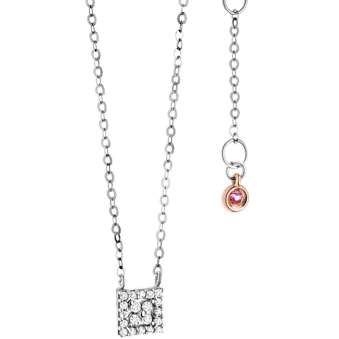 necklace woman jewellery Comete Pietre preziose colorate GLB 960