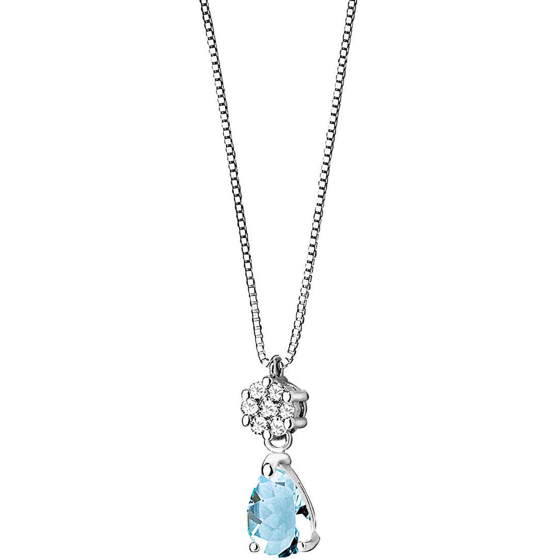 necklace woman jewellery Comete Pietre preziose colorate GLQ 216