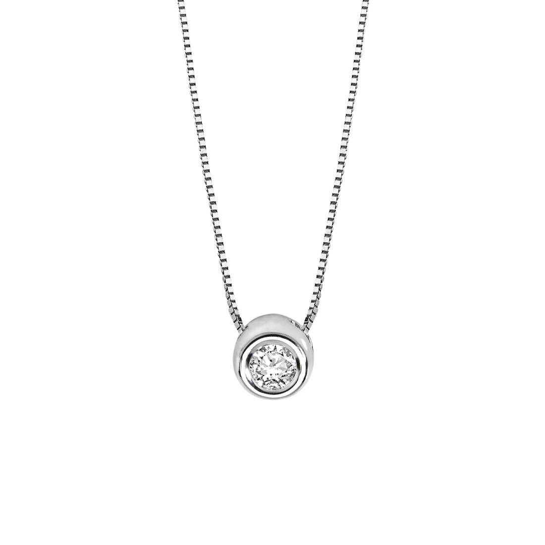 necklace woman jewellery Comete Punto luce GLB 975