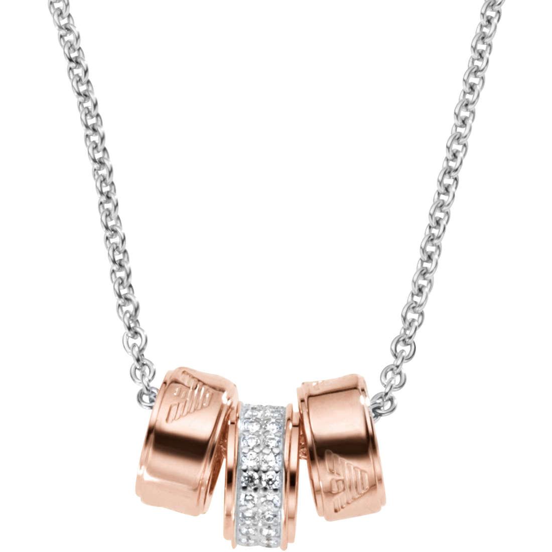 necklace woman jewellery Emporio Armani Signature EG3045040