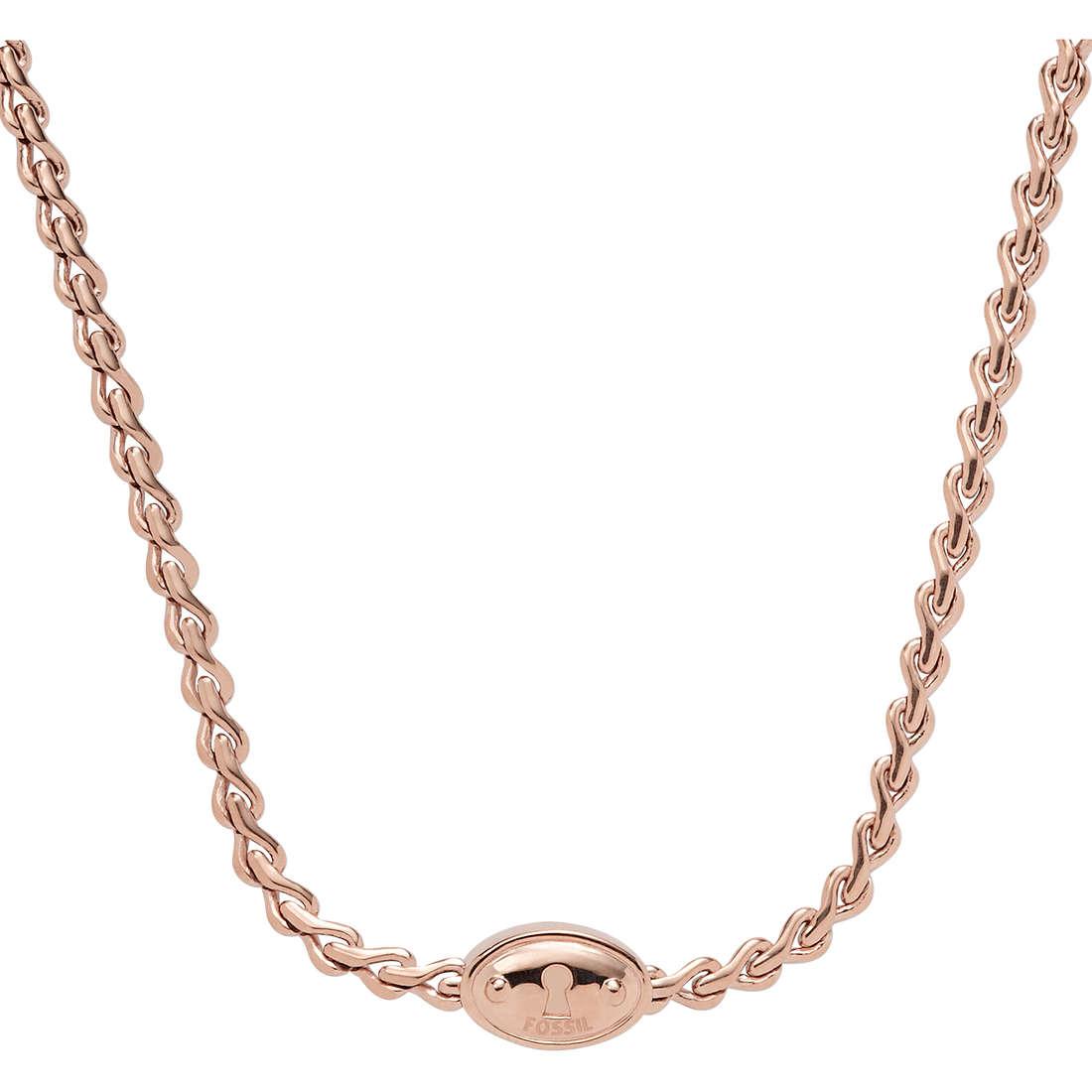 necklace woman jewellery Fossil JA5713791