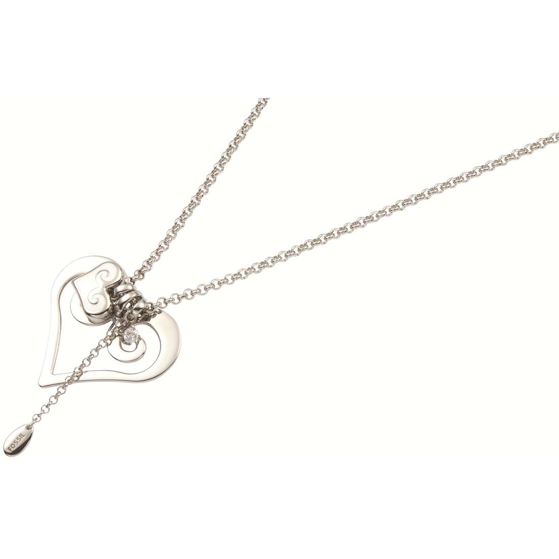 necklace woman jewellery Fossil JF84696040
