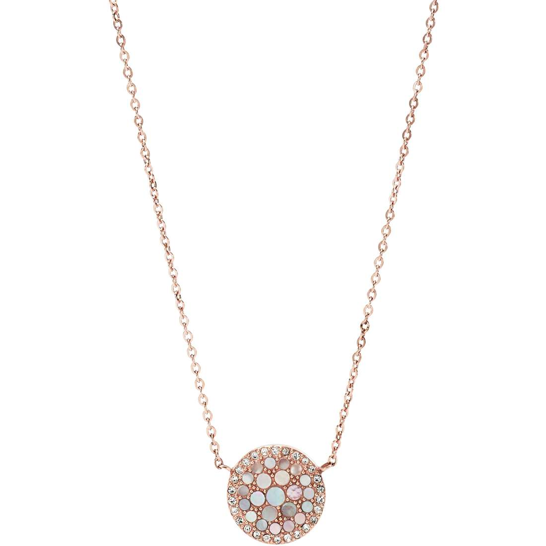 necklace woman jewellery Fossil Spring 15 JF01740791