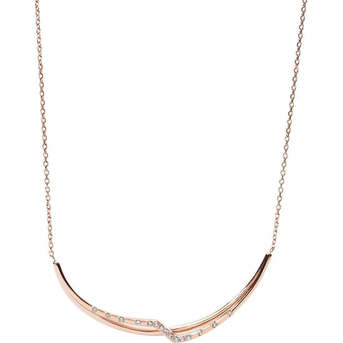 necklace woman jewellery Fossil Spring 16 JF02254791