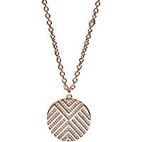necklace woman jewellery Fossil Vintage Glitz JF02747791