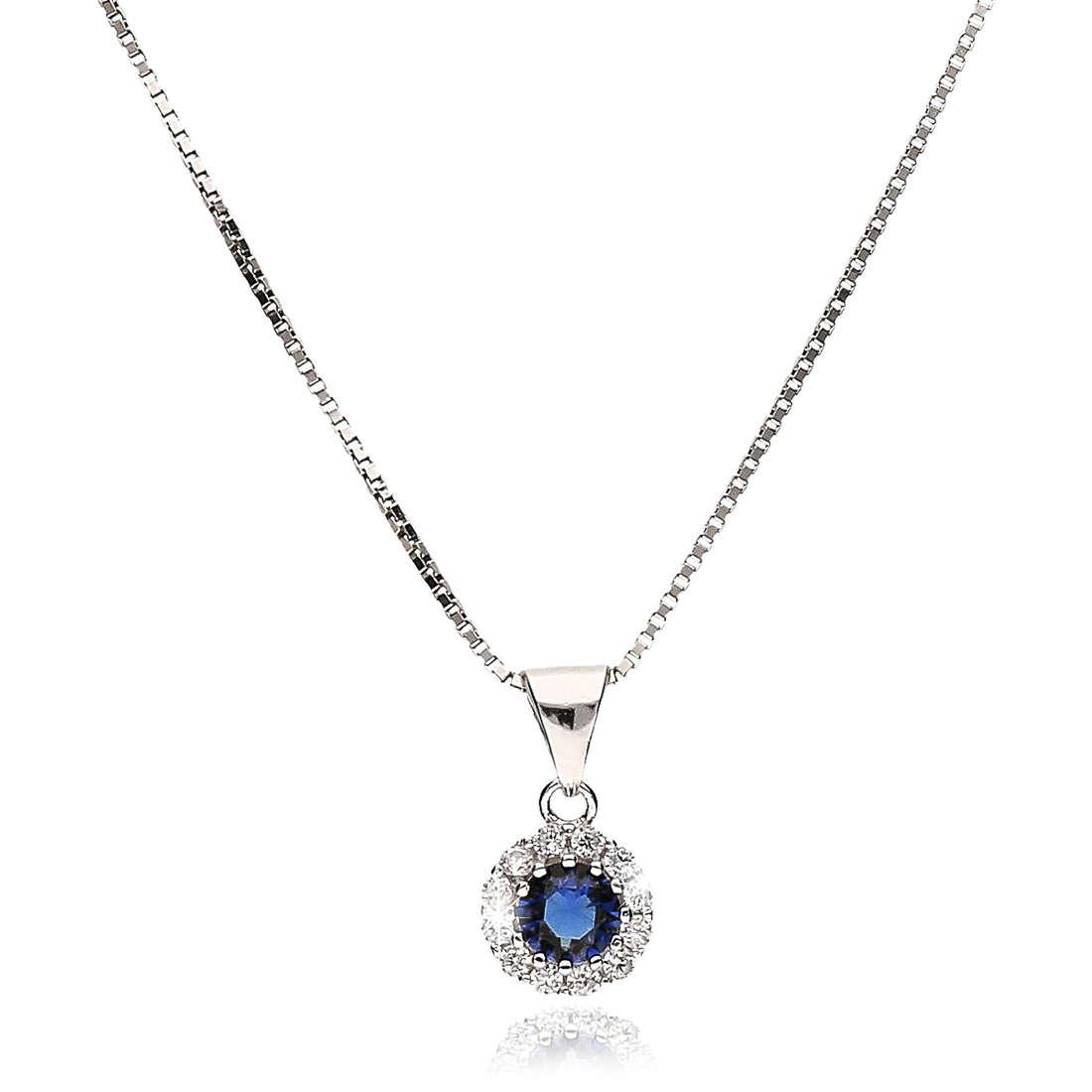 necklace woman jewellery GioiaPura GPSRPND1239-BL
