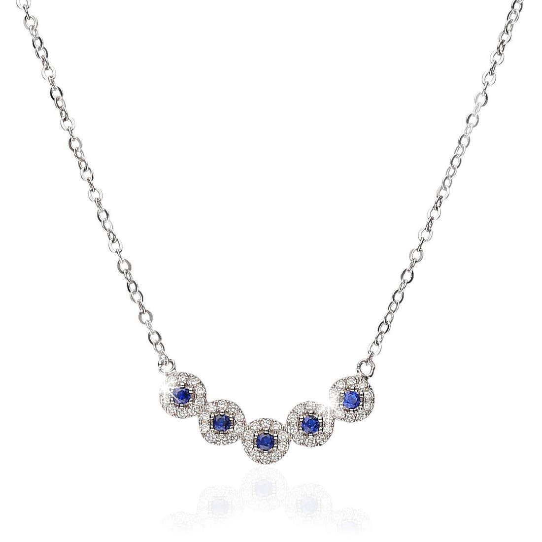 necklace woman jewellery GioiaPura GPSRSCL2120-BL