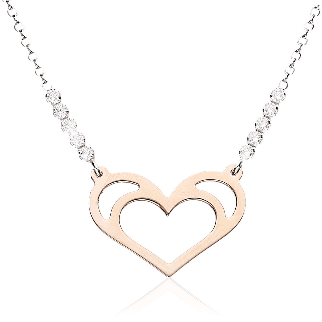 necklace woman jewellery GioiaPura GPSRSCL2269