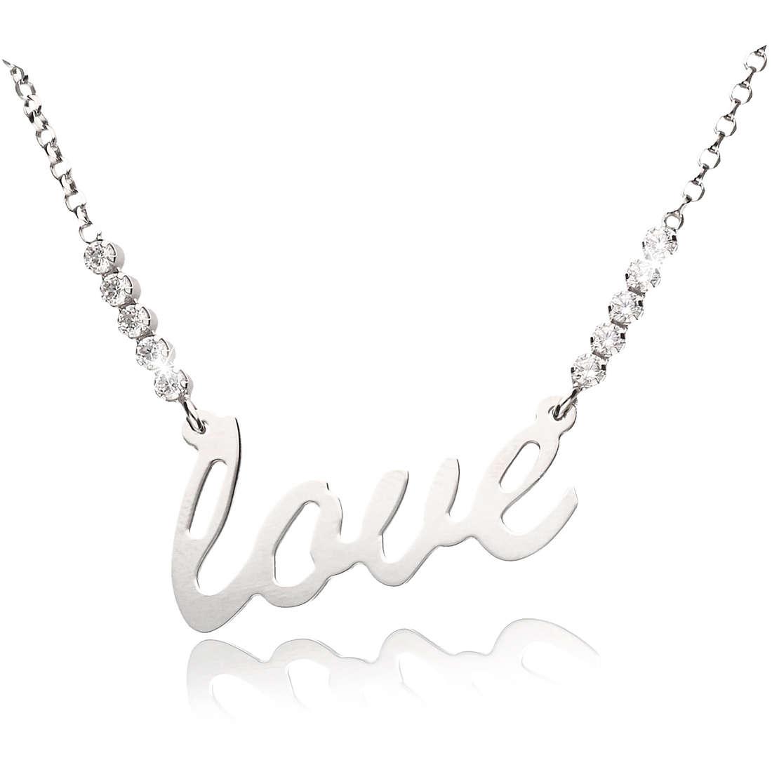 necklace woman jewellery GioiaPura GPSRSCL2274