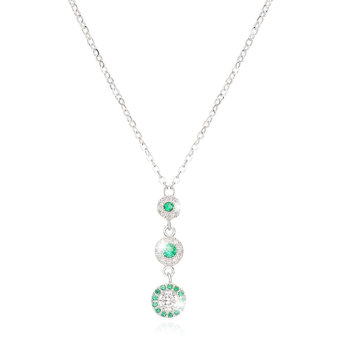 necklace woman jewellery GioiaPura GPSRSCL2303-VE
