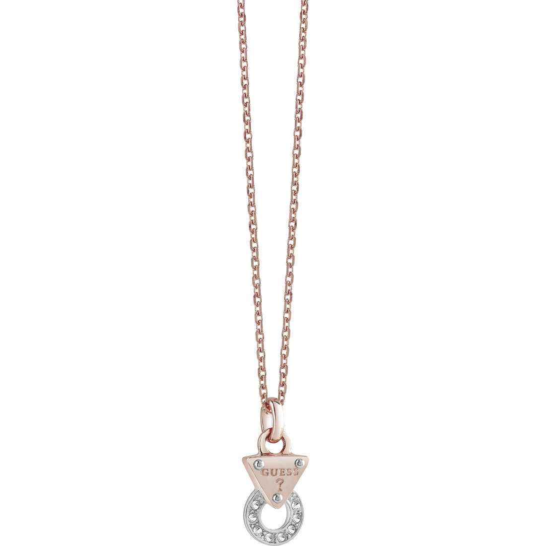 necklace woman jewellery Guess Embrace Me UBN71514