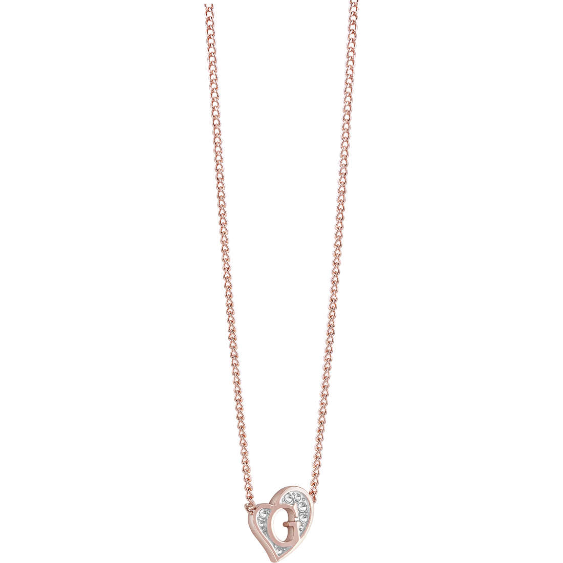 necklace woman jewellery Guess G Hearts UBN71538