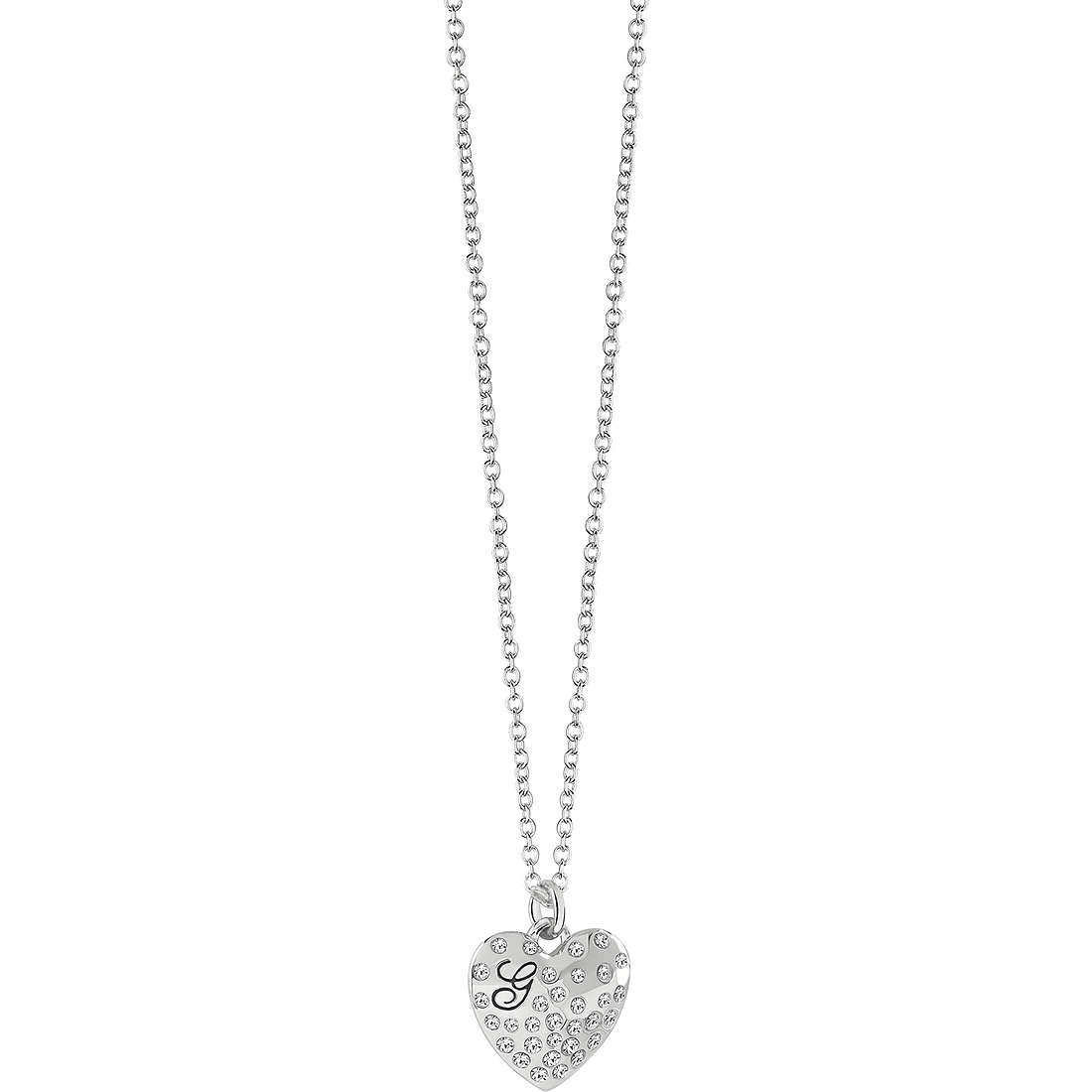 necklace woman jewellery Guess GLOSSY HEARTS UBN51471